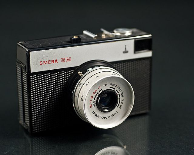 Do you know the meaning of LOMO?  Here is the Lomo Smena-8m, a classic camera…
