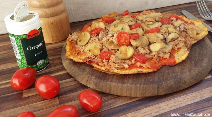 Size Zero Low Carb Blumenkohl-Pizza     Hallo zusammen!   Nach einigem Herumprobieren und Austüfteln habe ich endlich eine annehmbare Rez... (Ketogenic Recipes Vegetarian)