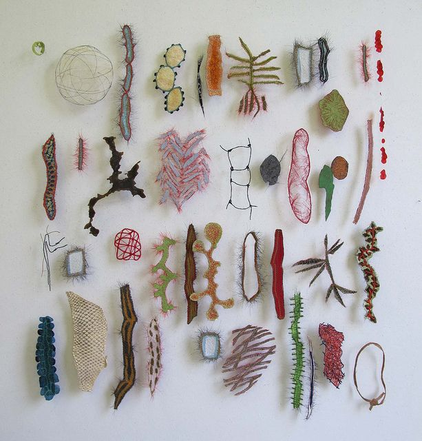 """..fishskin, horsehair, parchment, paperyarn, fabric, fishscale, bark.."" Marian Bijlenga: 3D Character, Photo Sharing, Artist, Collection, Fabric, Textile Art"