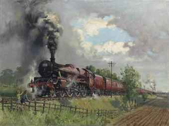 TERENCE CUNEO (1907-1996)  THE LICKEY INCLINE