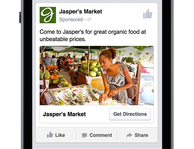Facebook Launches Hyper-Local Ads Targeted To People Within A Mile Of A Business
