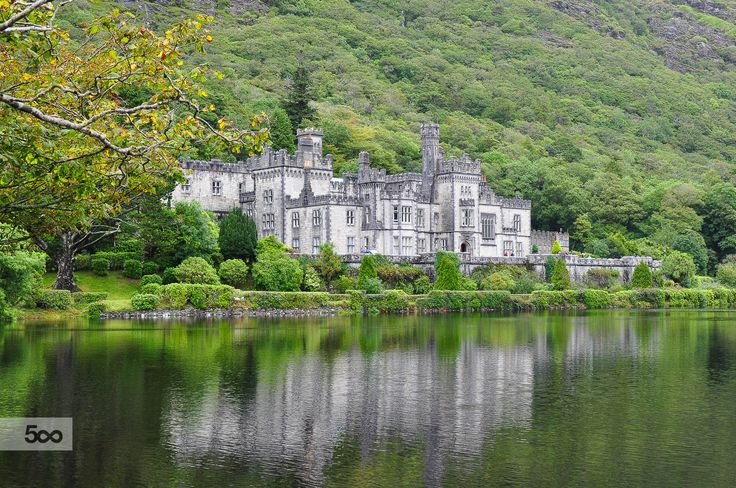 kylemore abbey by helmut flatscher on 500px