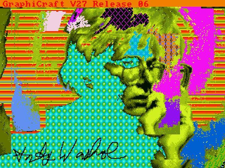 Μία ομάδα θεότρελων nerds από το Pittsburgh, οι οποίοι αρέσκονται στην ποπ κουλτούρα, ανέκτησαν από δισκέτες του 1985 ψηφιακά πειράματα που είχε δημιουργήσει ο Andy Warhol. Το εγχείρημα μοιάζει με άλμα πίσω στον χρόνο, όπου μπορείς να δεις την έλευση της ψηφιακής γραφιστικής προ σύγχρονων προγραμμάτων, μέσω των κλασικών γουορχολικών εικόνων, όπως το τενεκεδάκι Campbell [...]