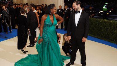 Serena Williams Denies Knowing Babys Gender