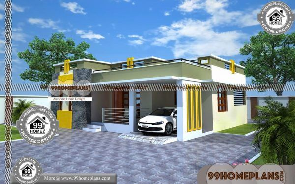 Simple House Floor Plans One Story 90 South Indian House Design House Plans With Photos House Design One Floor House Plans