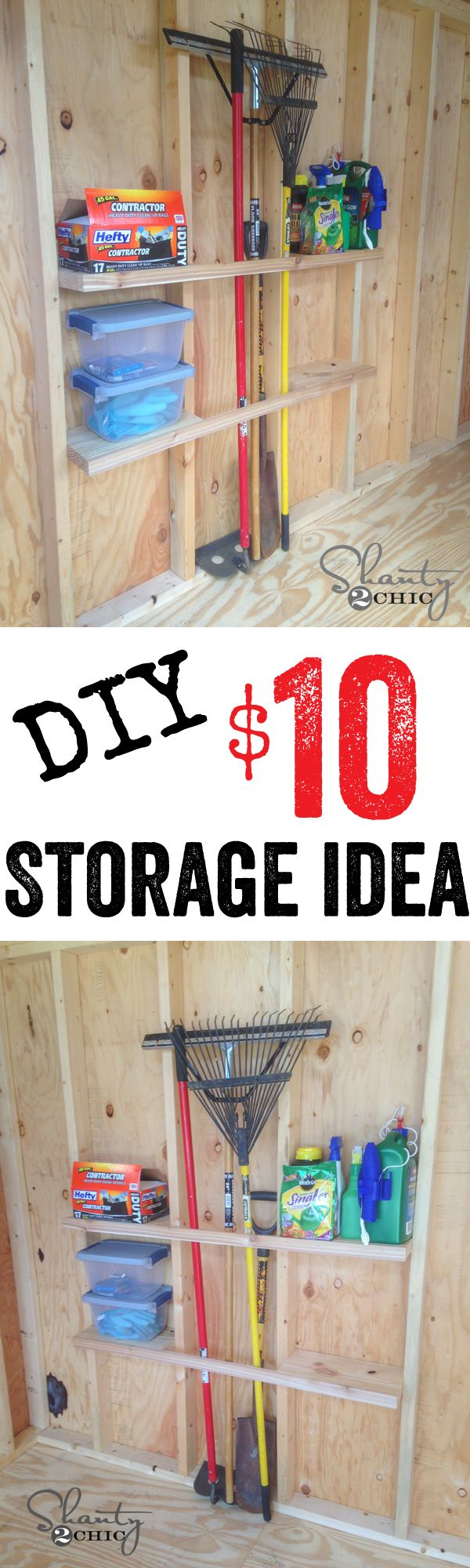 Shelving plans for shed woodworking projects plans - Cheap storage shelves diy ...