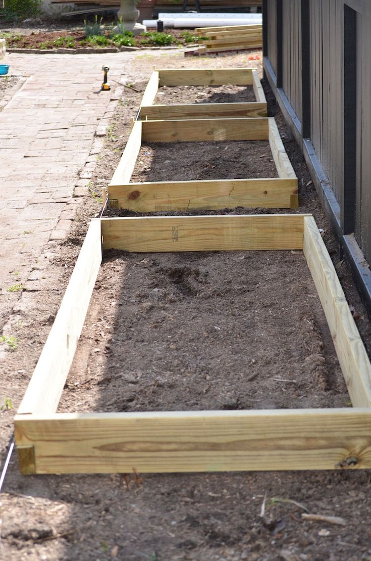 How We Built Our Own Vegetable Garden
