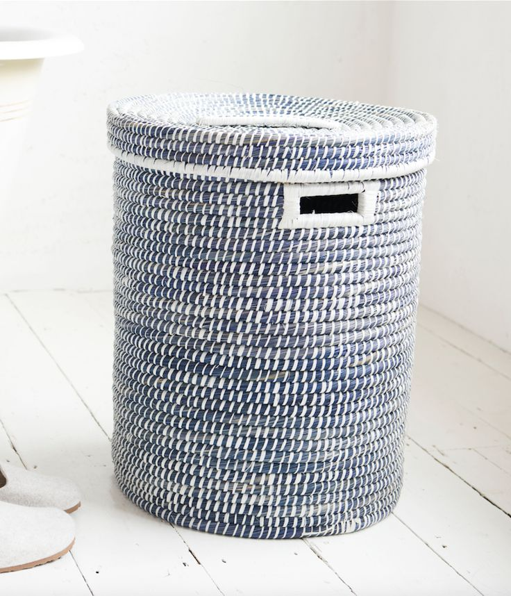 85 best laundry baskets images on pinterest layette wicker and baskets - Whites and darks laundry basket ...