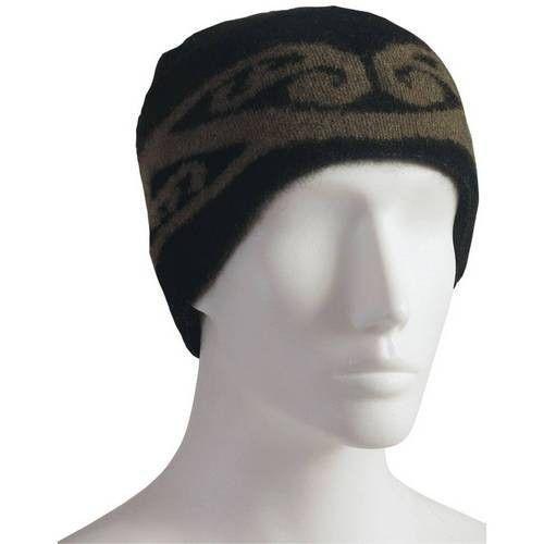 Possum Merino Koru Design Hat