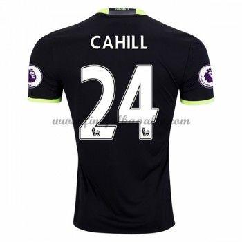 Jalkapallo Pelipaidat Chelsea 2016-17 Cahill 24 Vieraspaita