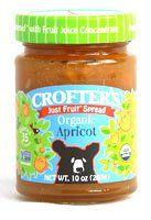 Crofters Organic Just Fruit Spread Apricot -- 10 oz - http://mygourmetgifts.com/crofters-organic-just-fruit-spread-apricot-10-oz/