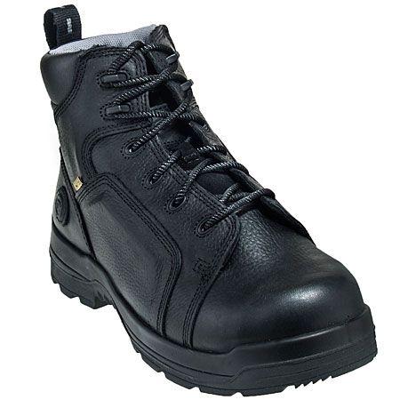 Rockport Works Shoes Women's Non Metallic RK465 Black Flex-Met Metatarsal EH Boots