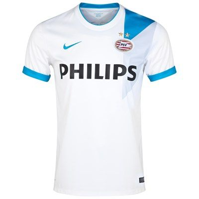 PSV 2014/2015 Away Shirt (White). Available from Kitbag.com
