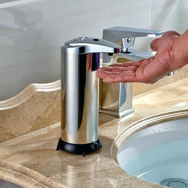 Kitchen Sinks With Hot Water And Soap Dispensers Google Search Kitchen Soap Dispenser Soap Dispenser Stainless Steel Dispenser