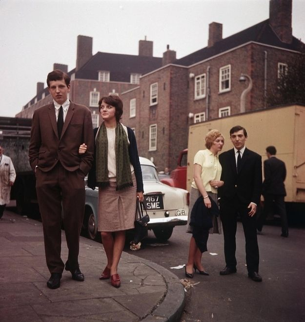 Early 60s, mod style.