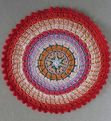 Circular Granny Crochet