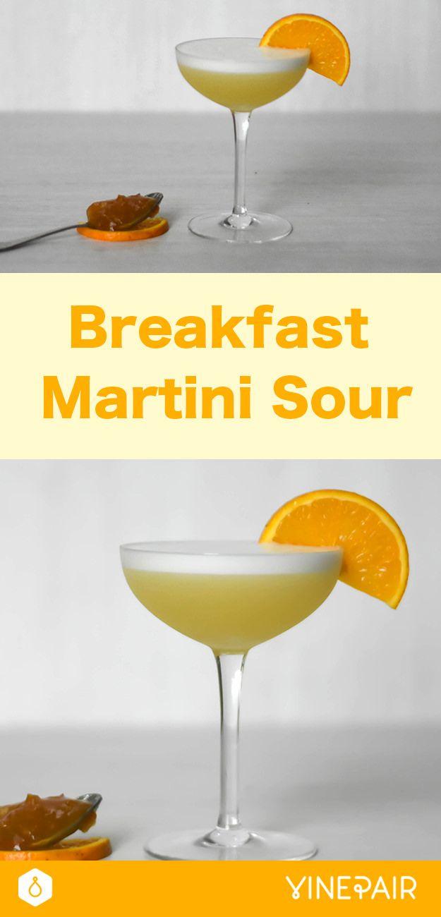 Breakfast Martini Sour Recipe