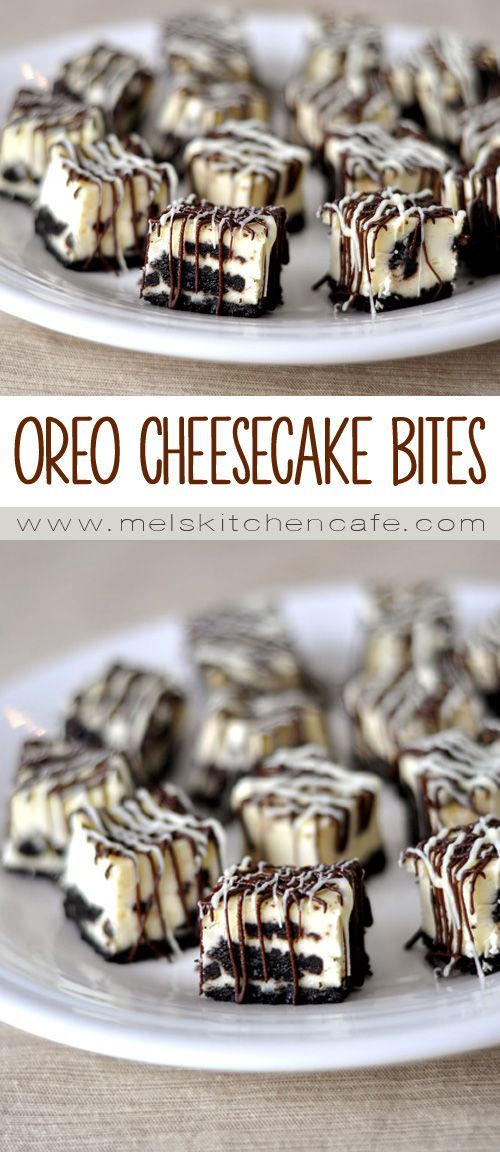 These Oreo cheesecake bites are like little bites of heaven.
