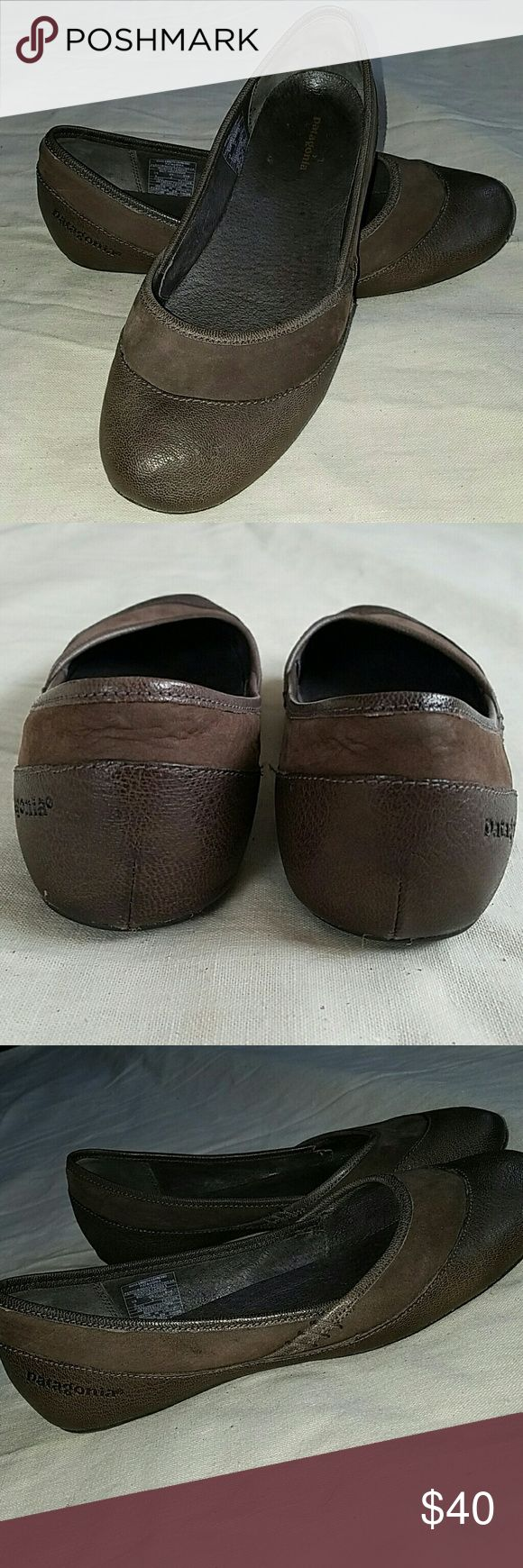 Patagonia Maha ballet flats Smooth espresso. Size 6. Very good condition. Patagonia Shoes Flats & Loafers