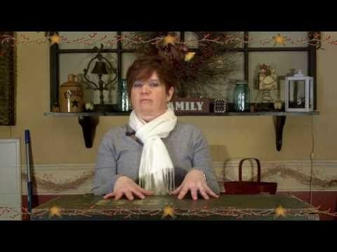 Primitive Country Decorating Ideas - Floor Display...In this video of Primitive Country Decorating Ideas we take a old chest add a few country decorations to make a country floor display.   Thanks for watching.