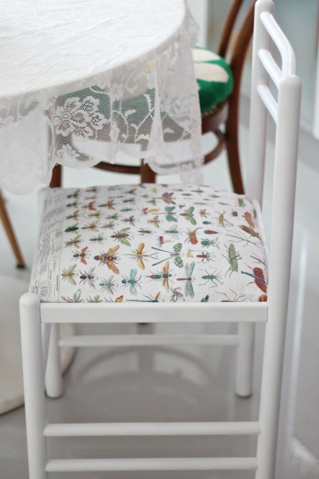 Restyle an old chair