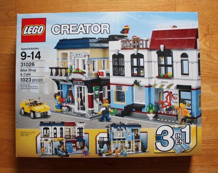 LEGO Creator 31026 Bike Shop & Cafe New in sealed box