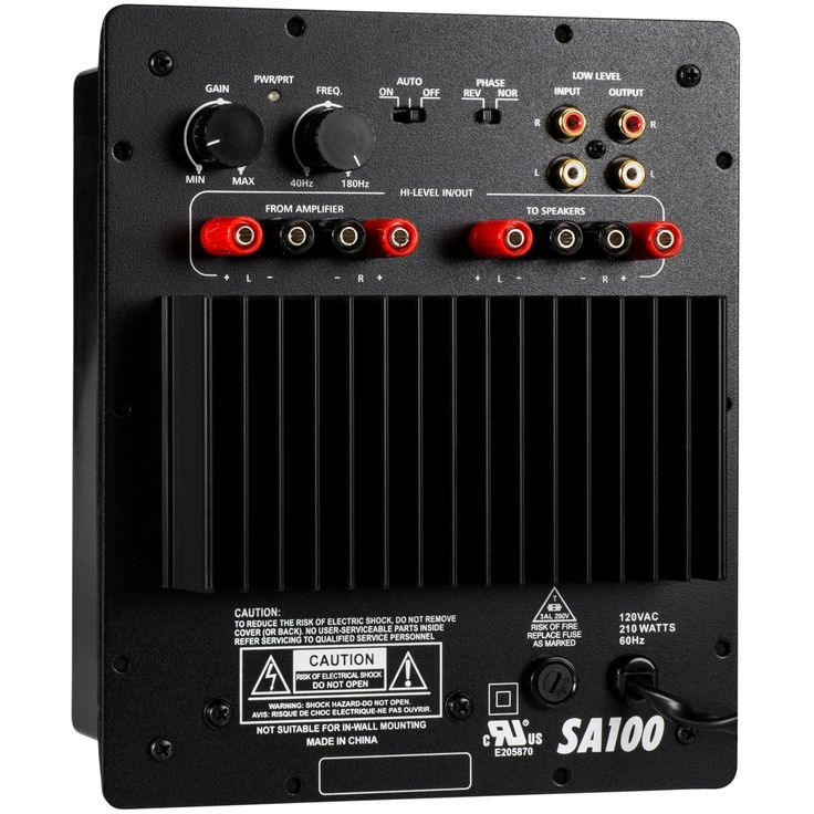 Dayton audio sa100 100w subwoofer plate amplifier in 2020