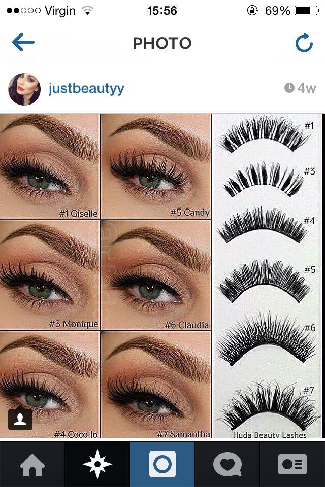 Huda Beauty Lashes Make Up Styles In 2019 Eye Makeup