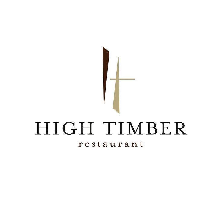 #tbt to a logo we did for @hightimberrestaurant in London! @jordan_wines  #throwback #logodesign #hightimber #restaurant #logo #haumannsmal #jordanwine #southafrican #cuisine #london #thames #uk