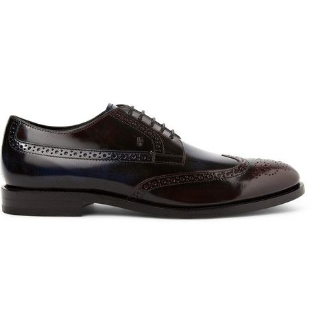 Tod's Leather Brogues | MR PORTER