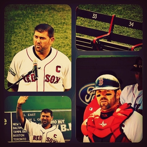 """""""Thanks Tek"""" ceremony (7/21/2012)  Red Sox"""