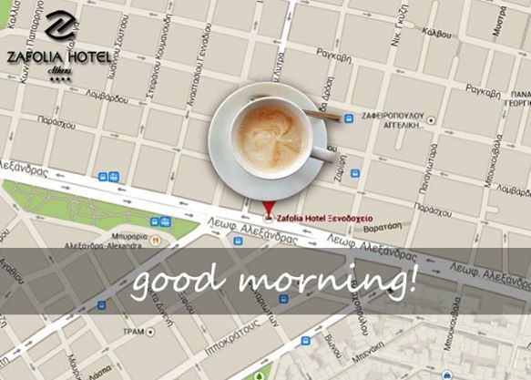 visit us for a moring coffee