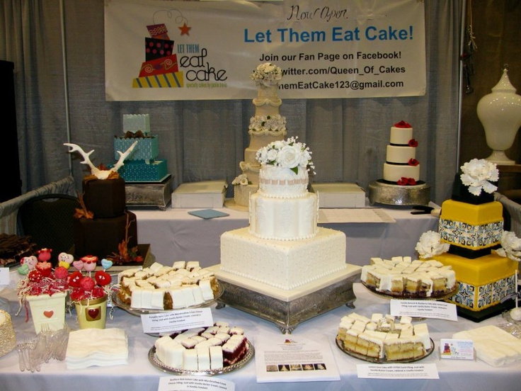 Cake Design Expo Sp : Cake booth decoration idea Bridal Show - cake booth ...