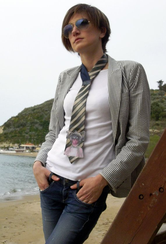Ties for Women who dare to be different by TellMamaxxSmallRoom