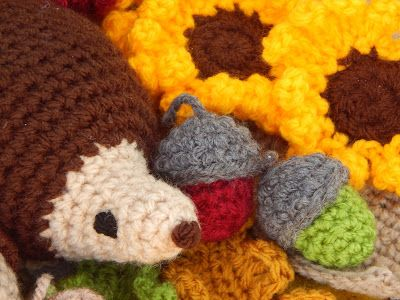 In & around my house : Autumn crochet !!!!!