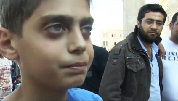 Paren la guerra: el niño sirio que conmueve al mundo