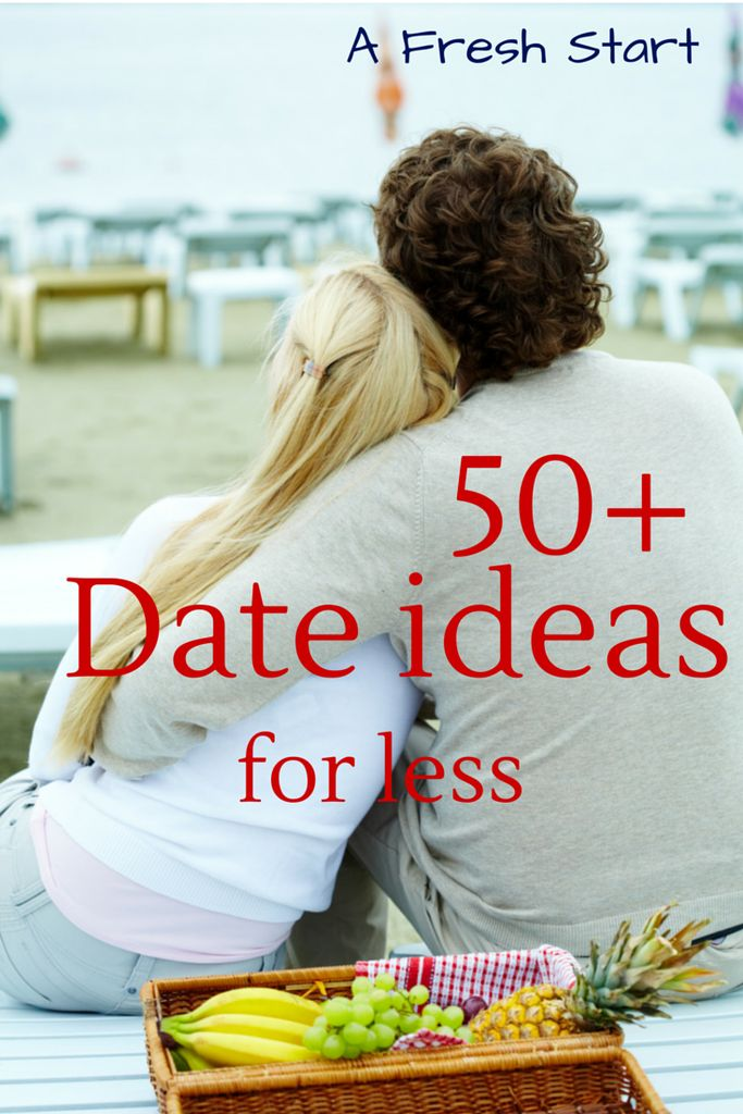 50+ Date ideas for Less