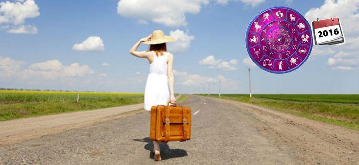 Horoscopo viajero 2016 mirando los Signos zodiacales