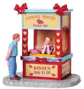 christmas village kissing bridge