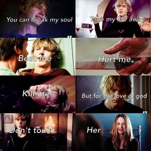 American Horror Story: Murder House #Tate #Violet