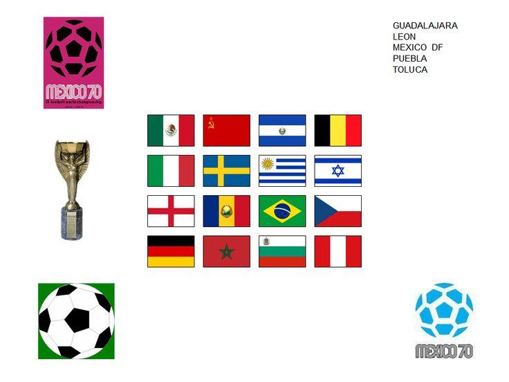 Copa Mundial de Fútbol de 1970 MEXICO