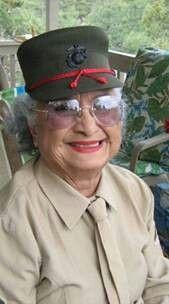 Native American Woman Marine Barbara Beltran Steele