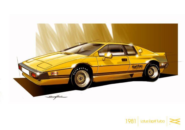 LOTUS ESPRIT TURBO 1981