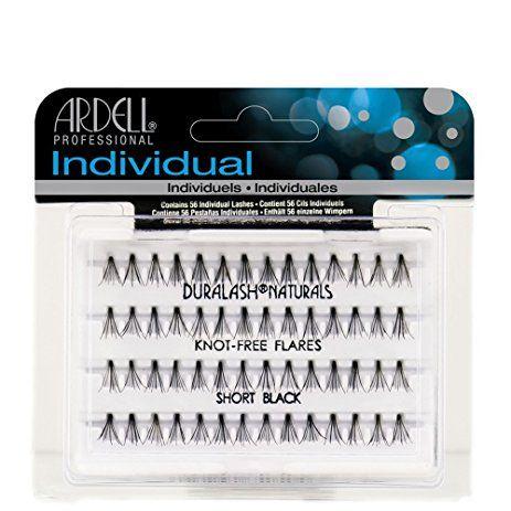 108257e0a5f Ardell Duralash Individual Eyelashes Knot Free Naturals Short Black (12  Pack) Review