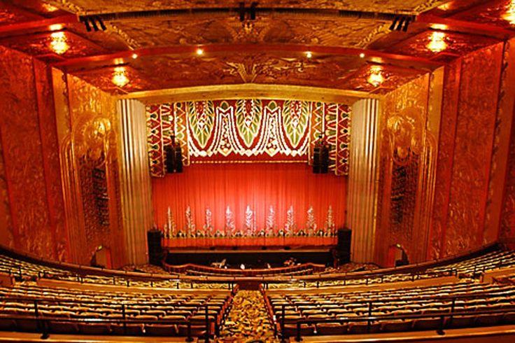 Oakland Symphony Oakland Eiffel Tower Inside Building