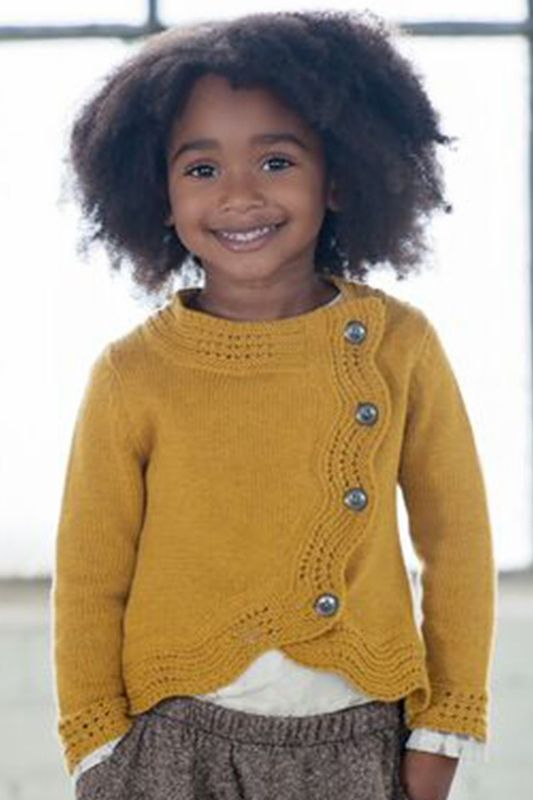 Persnickety Amelia Sweater in Mustard Yellow PREORDER