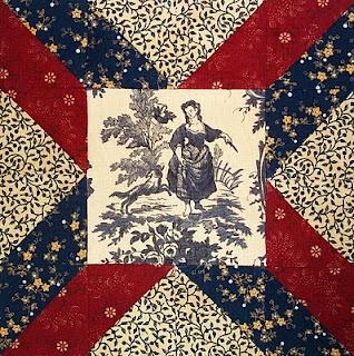 Civil War Quilt - Block 48