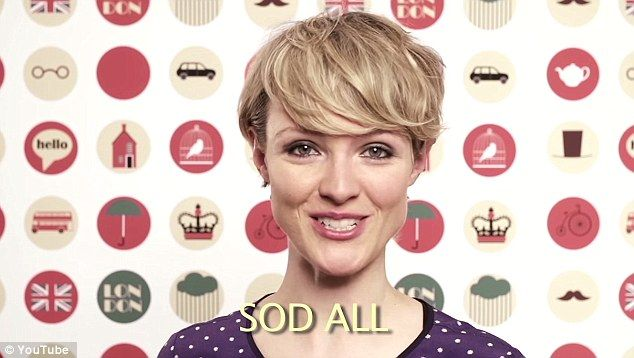 Now ANYONE can swear like a Brit! Former children's presenter teaches Americans how to use Anglo-Saxon expletives in a cheeky new YouTube tutorial