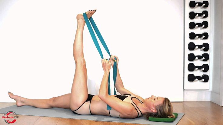 supina Hamstring Stretch