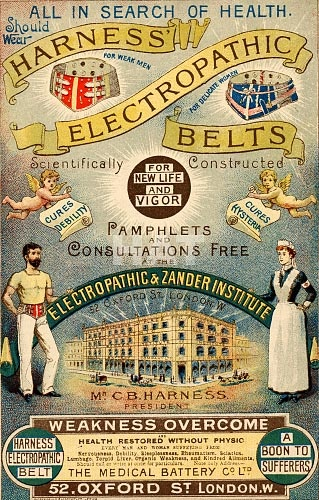 """""""All in search of health should wear Harness Electropath Belts!"""""""